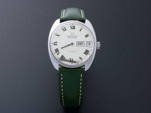 Lot #6483A – Vintage Universal Geneve Polerouter Watch #872102 Polerouter Universal Geneve 872102