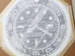 Lot #11275 – Joshua Vides 8:20 Rolex GMT Master II Screen Print Limited Edition Joshua Vides Joshua Vides