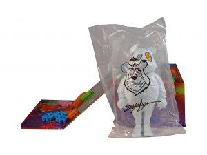 Lot #10548 – King Saladeen JP Money Bear El Blanco Vinyl Figure Art Toys King Saladeen