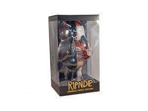 Lot #10553 – Ripndip Lord Nermal Anatomy Vinyl 14in Figure Black Limited Edition Art Toys [tag]
