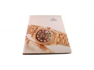 Lot #10276 – Rolex 2002 – 2003 Master Dealer Watch Catalog Collector's Bookshelf [tag]