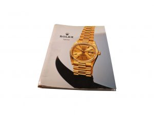 Lot #10281 – Rolex 1994 Master Dealer Watch Catalog Collector's Bookshelf [tag]