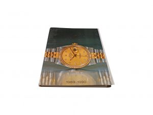 Lot #10282 – Rolex 1989 – 1990 Master Dealer Watch Catalog Collector's Bookshelf [tag]
