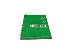 Lot #10292 – Rolex 1991 Master Dealer Watch Price List Catalog Collector's Bookshelf [tag]