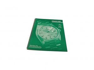 Lot #10297 – Rolex 2000 Master Dealer Watch Price List Catalog Collector's Bookshelf [tag]