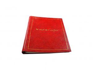 Lot #10302 – Cartier Master Dealer Watch& Clocks Price List Catalog Collector's Bookshelf [tag]