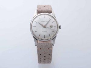 Lot #10871 – Rare IWC Date Platinum Watch Cal 8531 Vintage IWC International Watch Co