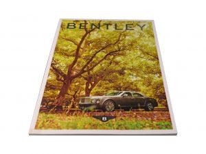 Lot #10318 – Bentley Collector's Bookshelf [tag]