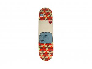 Lot #11072 – Barry McGee Spanky Barry Skateboard Deck Barry McGee Barry McGee Skateboard