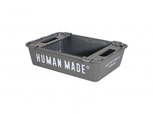 Lot #10758 – Human Made Stacking Box Grey Art Toys BBC