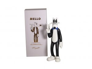 Lot #10766 – Steven Harrington Mello Sculpture Art Toys BBC