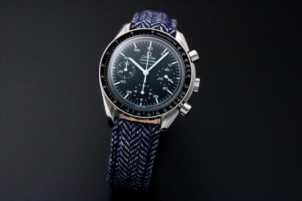 Lot #10913 – Omega 175.0032 Reduced Speedmaster Chronograph Watch 175.0032 Omega 175.0032