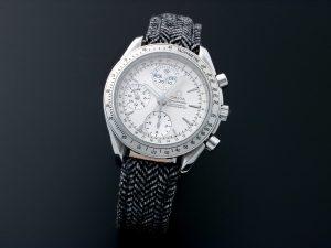 Lot #10916 – Omega 3221.30 Speedmaster Triple Calendar Watch Omega Omega 3221.30