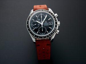 Lot #10917 – Omega 3210.50 Speedmaster Date Chronograph Watch 3210.50 Omega 3210.50.00