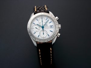 Lot #10923 – Omega 3211.32 Speedmaster Chronograph Watch 3211.32 Japan Market