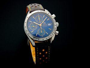 Lot #10926 – Omega 3511.81 Speedmaster Date Watch Rare 3511.81 Chronograph