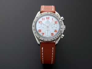 Lot #10931 – Omega 3534.78 Speedmaster Mother of Pearl Chronograph Watch 3534.78 Omega 3534.78