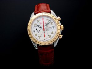 Lot #10949 – Omega 3313.33 Speedmaster Tutone Mark 40 Special Edition Watch 3313.33 Omega 3313.33