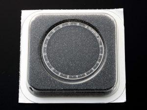 Lot #10979 – Omega Speedmaster 1KM Telemetre Bezel 145.012 & 145.022 Parts 105.012 Omega 082ST1450012TE1