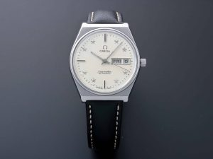 Lot #10943 – Omega 166.0210 Seamaster Star Dial Day Date Watch 166.0210 Omega 166.0210