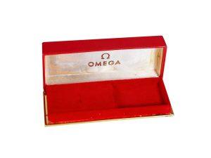 Lot #10987 – Omega Presentation Rectangular Watch Box Omega [tag]
