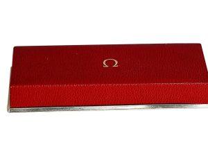Lot #10990 – Omega Vintage Rectangular Presentation Watch Box Omega [tag]
