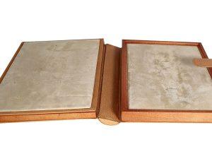 Lot #10995 – Rare Omega Book Shape Watch Box Special Edition Omega [tag]