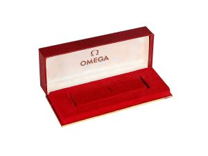 Lot #10997 – Vintage Omega Watch Rectangular Box Omega [tag]
