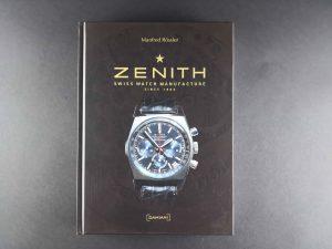 Lot #11032A – Rare Zenith Watch Book By Manfred Rossler Collector's Bookshelf Manfred Rossler