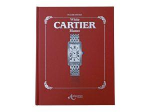 Lot #11098A – White Cartier Bianco Book by Osvaldo Patrizzi Cartier Antiquorum Editions