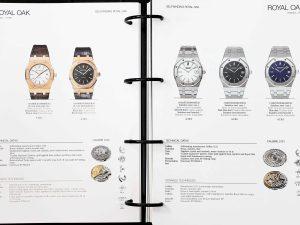 Lot #11140A – Audemars Piguet Dealer Master Watch Catalog 2012 Audemars Piguet Audemars Piguet