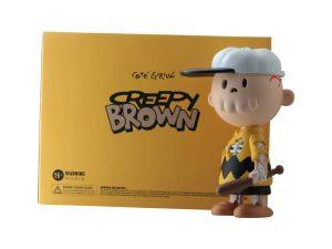 Lot #11154A – Cote Escriva Creepy Brown Polyresin Sculpture Art Toys Cote Escriva