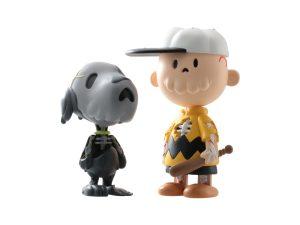 Lot #11266A – Cote Escriva Creepy Brown & Creepy Snoop Grey Set Art Toys Cote Escriva